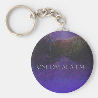 ODAT Purple Mountain Road Keychain