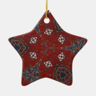 Odd Art Ornamental Design Ceramic Ornament