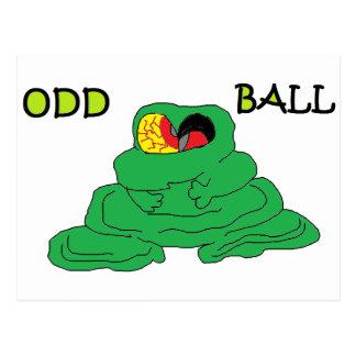 Odd Ball Postcard