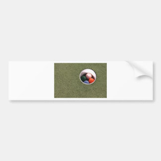 Odd Balls Car Bumper Sticker