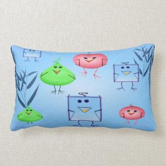 Odd Birds Lumbar Pillow