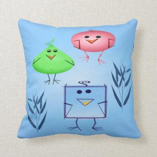 Odd Birds Pillow