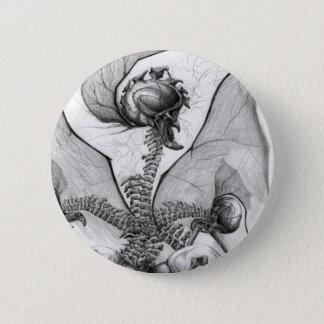 Odd Bone Fellow Horror Monster Art Button