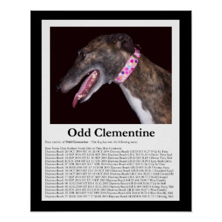 Odd Clementine - Winning Races Poster