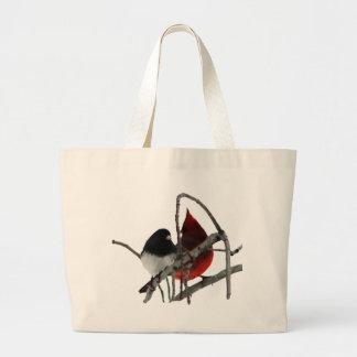 Odd Couple - Birds in the Bush Canvas Bag