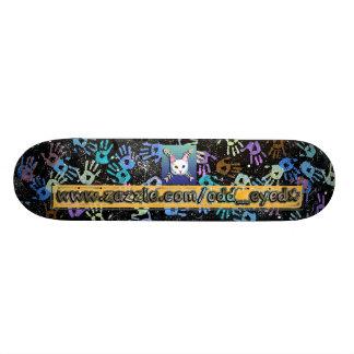 Odd_Eyed Ad Skateboard