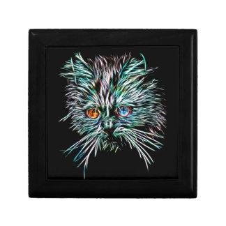 Odd-Eyed Glowing Cat Gift Box