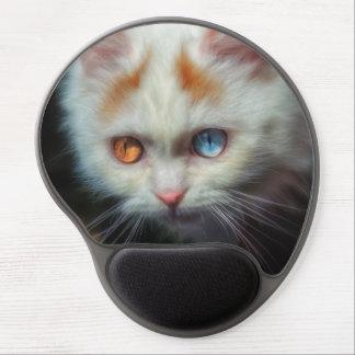 Odd-Eyed Persian Kitten Gel Mouse Pad