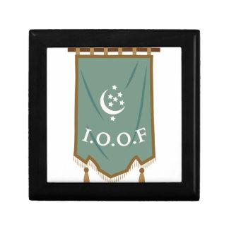 Odd Fellow Moon Banner Gift Box