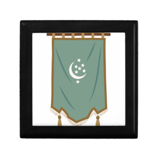Odd Fellow Moon Banner Keepsake Box