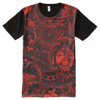 Odd Fellows Emblematic Tapestry Shirt
