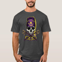 Odd Fellows Encampment Skull and Crossed Crooks T-Shirt