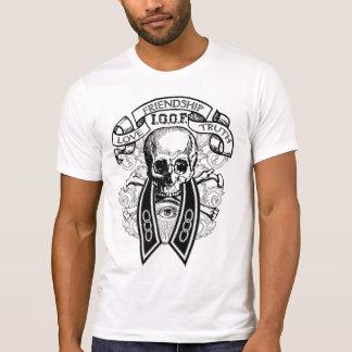 Odd Fellows FLT Skull and Collar Shirt