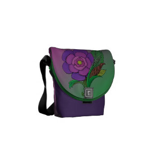 Odd Flower Courier Bags