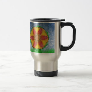 Odd Flower Travel Mug