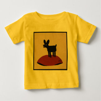 Odd Funny Looking Dog - Colorful Book Illustration Baby T-Shirt