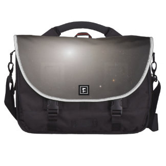 Odd Galaxy Couple on Space Voyage Commuter Bags