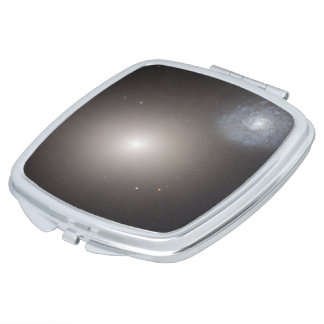 Odd Galaxy Couple on Space Voyage Vanity Mirrors