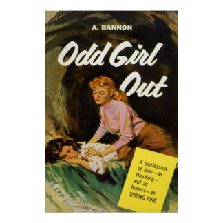 Odd Girl Out Vintage Poster