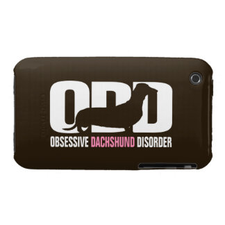 ODD - Obsessive Dachshund Disorder (distressed) Case-Mate iPhone 3 Cases