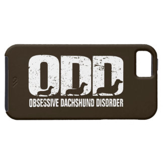 ODD - Obsessive Dachshund Disorder (distressed) iPhone SE/5/5s Case