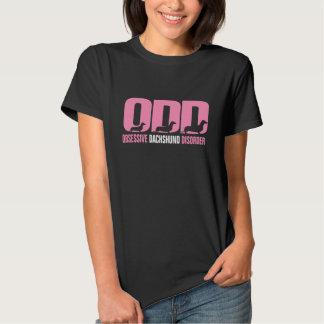 ODD - Obsessive Dachshund Disorder Tee Shirt