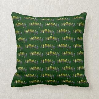 Odd One Out Pillow (Dark Green)