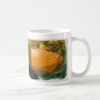 Odd orange sweet potato, yam cat coffee mug