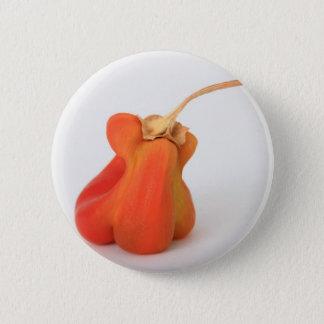 Odd pepper pinback button