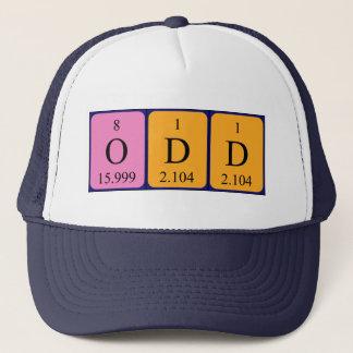 Odd periodic table name hat