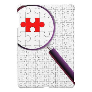 Odd Piece Magnifying Glass iPad Mini Cases