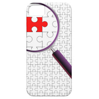 Odd Piece Magnifying Glass iPhone SE/5/5s Case
