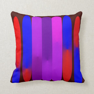 Odd Rods Throw Pillow