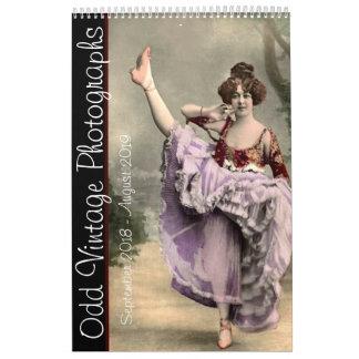 Odd Vintage Photographs Calendar
