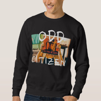 ODDcitizen's Record Stores N City Tours Sweatshirt