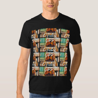 ODDcitizen's Record Stores N City Tours T-Shirt II