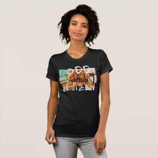 ODDcitizen's Record Stores N City Tours T-Shirt W