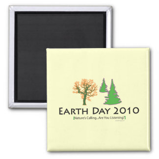 oddFrogg Earth Day 2010 Refrigerator Magnet