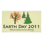 oddFrogg Earth Day 2011 Poster