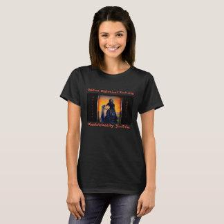 Oddie's Historical Features - Black Widow T-Shirt