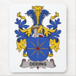Odding Family Crest Mouse Pad
