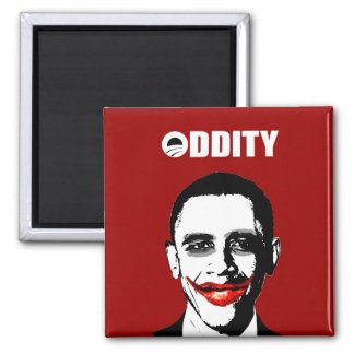 ODDITY 2 INCH SQUARE MAGNET