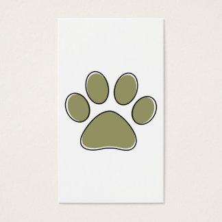 oddRex dog walker stamp card