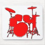 oddRex drums Mouse Pads