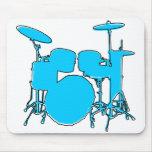 oddRex drums Mousepads
