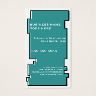 oddRex pisces Business Card