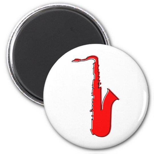 oddRex saxophone Magnet