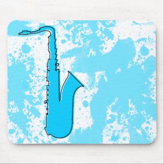 oddRex saxophone Mouse Pad