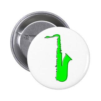 oddRex saxophone Pinback Button