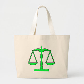 oddRex scales of justice Canvas Bags